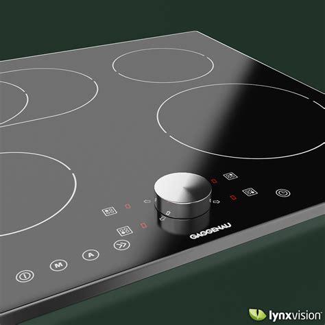 gaggenau induction cooktop model max obj fbx mtl cgtradercom
