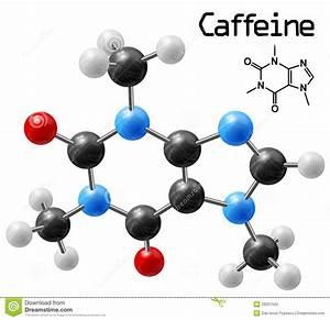 Caffeine Molecule Stock Photo - Image: 29201340