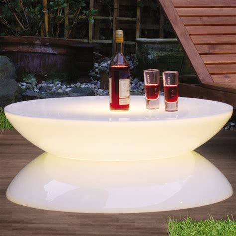 lounge tisch outdoor lounge leucht tisch outdoor led