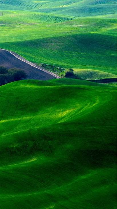 Phone Iphone Wallpapers Nature Spring Fields Mobile