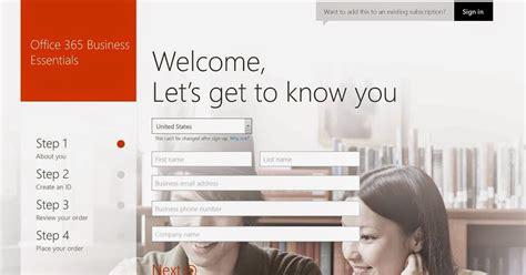 Setting Up Microsoft Office 365 For A