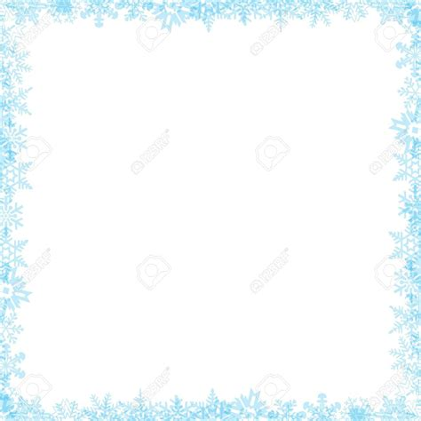after effects falling retro pictures template mega snow border clipart 101 clip art
