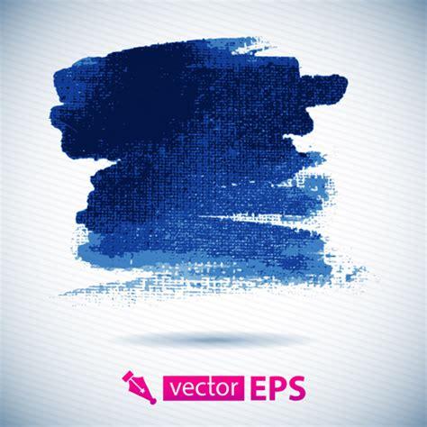 blue watercolor splash  vector