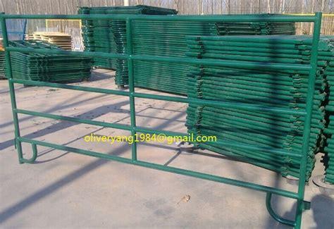 gate panel livestock coated powder gauge galvanized round sheep duty tube canada america