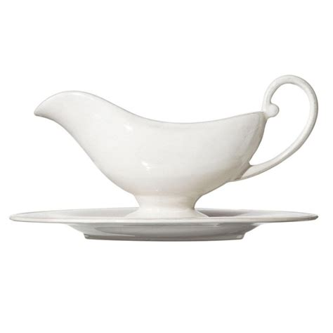 Gravy Boat From by Sorano China Gravy Boat White Oka