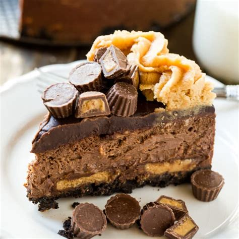 chocolate peanut butter cup cheesecake spicy southern