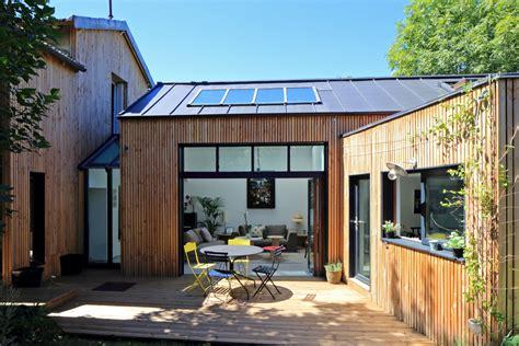 cuisine extension en bois 195 s 195 168 vres t design architecture maison design ossature bois