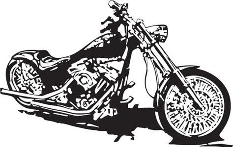 Bikers Clipart Vector Shapes