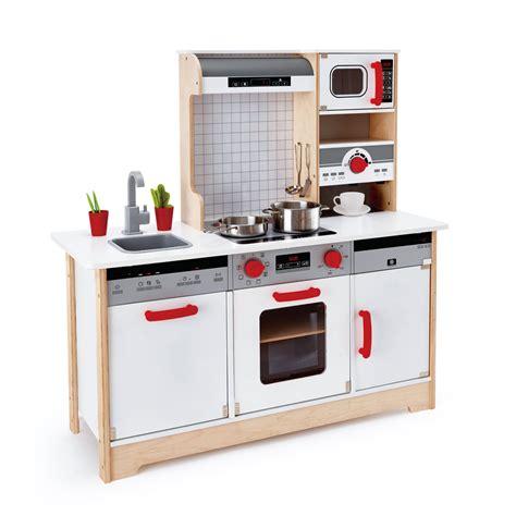 un jeux de cuisine cuisine tout en un en bois hape cuisine oxybul éveil et