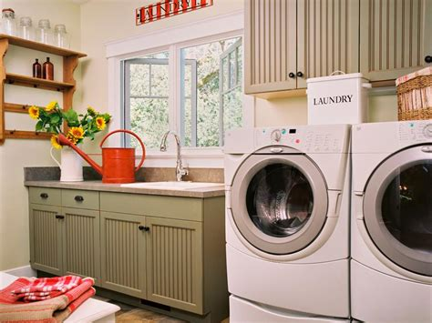 of laundry room updates organization ideas hgtv