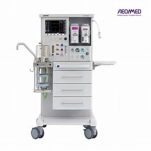 China Touch Screen Anesthesia Machine    Anesthesia
