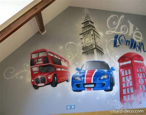 d馗oration chambre londres enchanteur decoration chambre theme londres et dacoration dune chambre denfant sur inspirations photo fresque chambre enfant graffiti