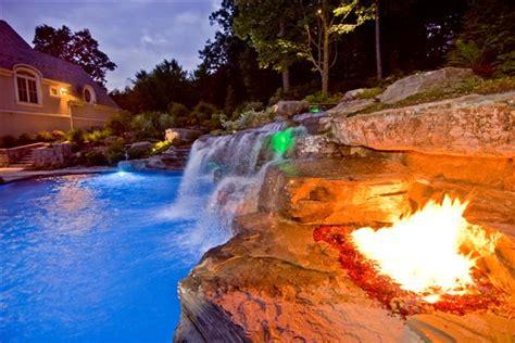 Night Lights Fiber Optic Pools, Led Landscape Lighting