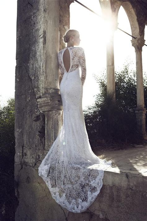 sleeve lace open back wedding dress for dress shopping may 2013