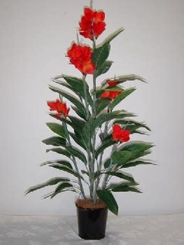 canna lily plant  artificial plants australia