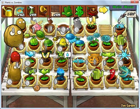 plants vs zombies zen garden image hans s zen garden png plants vs