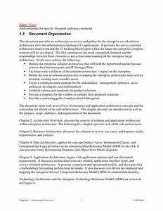 solution architecture document templatesolution With solution approach document template