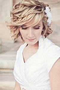 Coiffure Mariage Cheveux Court : brushing cheveux mi long mariage ~ Dode.kayakingforconservation.com Idées de Décoration