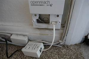 Fixed  Replacing Openreach Faceplate