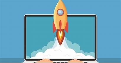 Emoney Launch Illustration Wealth Management Rocket Wealthmanagement