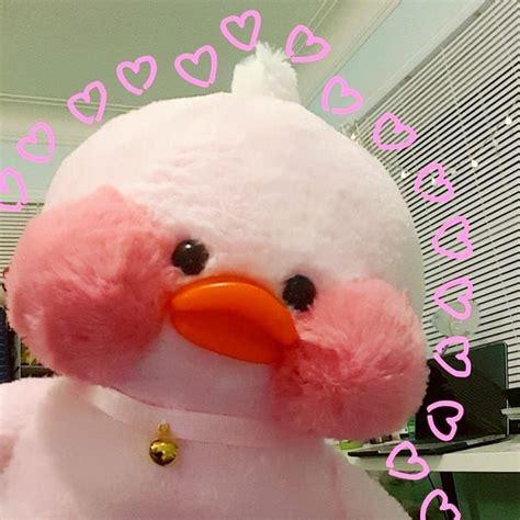 lalafanfan duck  hearts cute chickens cute stuffed