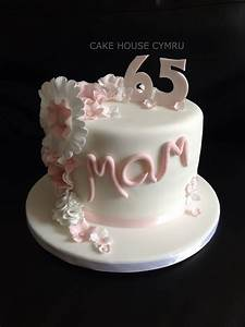 #65th Birthday Cake | Mother's Day | Pinterest | 65th ...