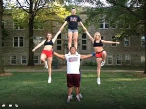 Cool Cheer Stunt