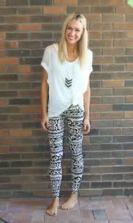 Tribal Print Outfits with Leggings
