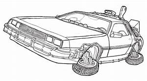 Back To The Future Colouring Pages | Back to the future ...