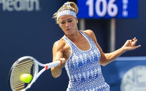 foto de ダウンロード画像 Camila Giorgi WTA 試合 テニス選手 テニス 画面の解像度