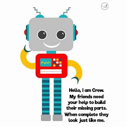 Robot Play Dough Robots Doh Mat Guys
