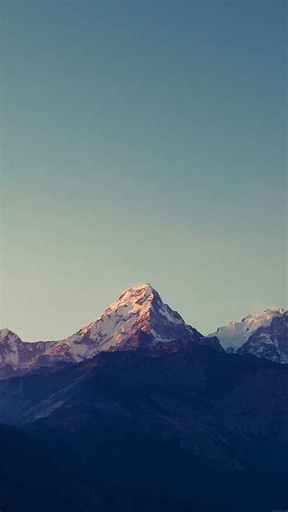 Iphone Mountain Wallpapers Sky Rocky Nature Android