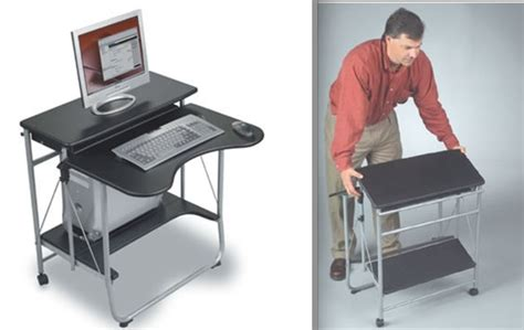 fold up laptop desk great ideas for portable desks and workstations world