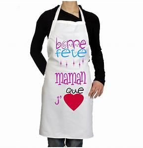 Tablier Fete Des Peres : tablier de cuisine original pour la f te des m res cadeau ~ Premium-room.com Idées de Décoration