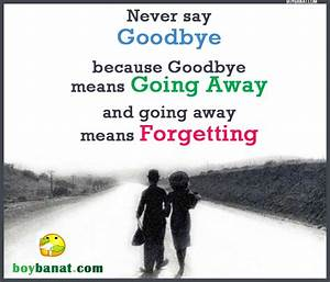 Goodbye Love Quotes | Love Quotes