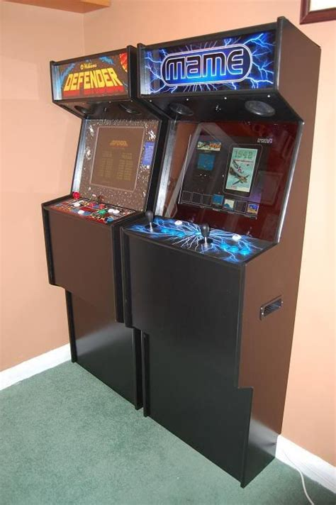 mame cabinet plans lcd friendly arcade cabinet cabinets and projects