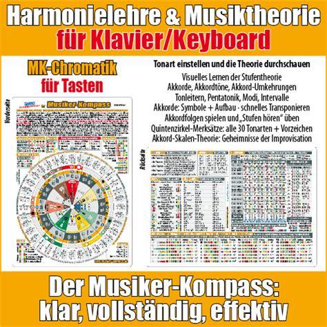 Hier bei piano chords & scales lernst du einfach. Harmonielehre Klavier/Keyboard: genial einfach lernen - Musiker-Kompass: sehen-spielen-hören ...