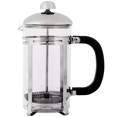 We love this brewing method because it retains coffee's natural oils that paper filters absorb and. 20 oz. Glass & Stainless Steel Coffee Press - French