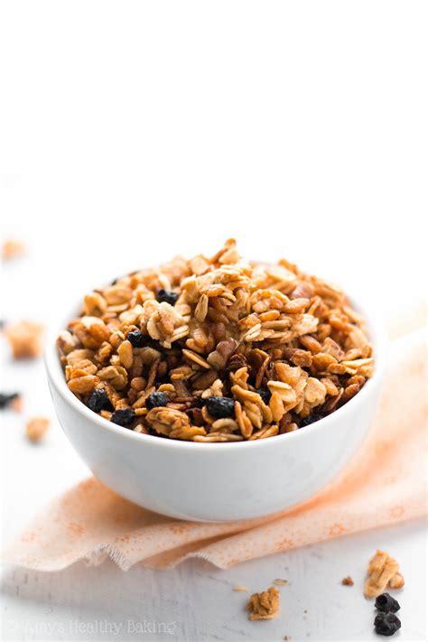 Healthy 5-Ingredient Slow Cooker Granola | Amy's Healthy ...