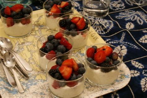 dessert au mascarpone et aux fruits frais annikapanika