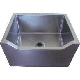 stainless steel mop sink sinks washfountains janitorial sinks imc fs d