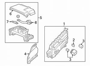 Cadillac Cts Fuse And Relay Center  Rear Compartment  W