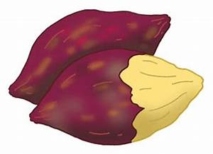 Food picture - Roast sweet potato | Illustration that ...