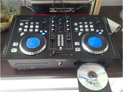 Citronic Cdmx1 Twin Cd And Mp3, Dj Mixing Deck  Uk Free