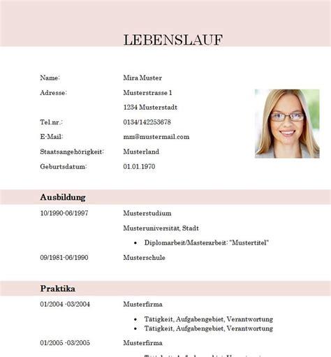 Lebenslauf Student Muster by Lebenslauf Muster Kostenlos F 252 R Sch 252 Ler Lebenslauf Beispiel
