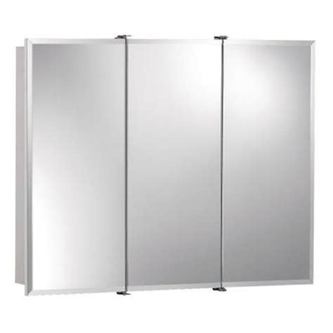 3 door medicine cabinets with mirrors ashland 30 in w x 26 in h x 4 75 in d surface mount