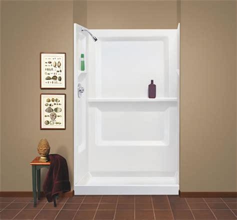 mustee   durawall fiberglass shower wall