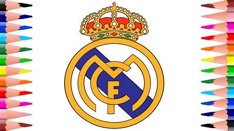 Coloring Real Madrid C.f. Logo
