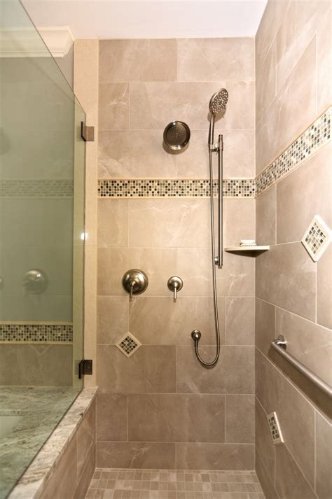 stand  shower bathroom traditional  light fixture