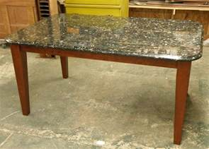 granite top kitchen island table contemporary granite table supported by osborne tapered legs osborne wood